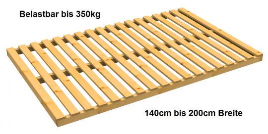 Lattenrost Baßner Exklusiv nicht verstellbar belastbar bis 350 kg 160cm   200cm