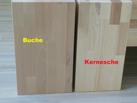 massivholz bett erh hung buche 44cm im onlineshop betten direkt vom hersteller. Black Bedroom Furniture Sets. Home Design Ideas