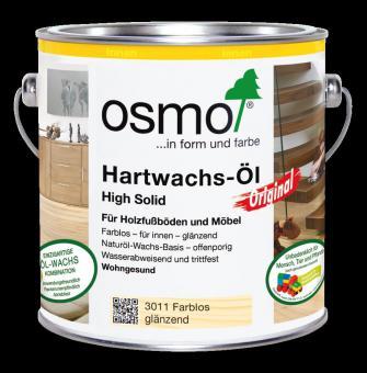 Osmo Hartwachs - Öl Original farblos-seidenmatt-3032 | 0,75 l