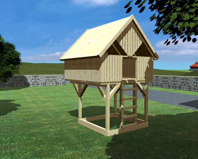 massivholzbetten 100 natur baumhaus auf stelzen oder unterbau modell 9 sonnenschein. Black Bedroom Furniture Sets. Home Design Ideas
