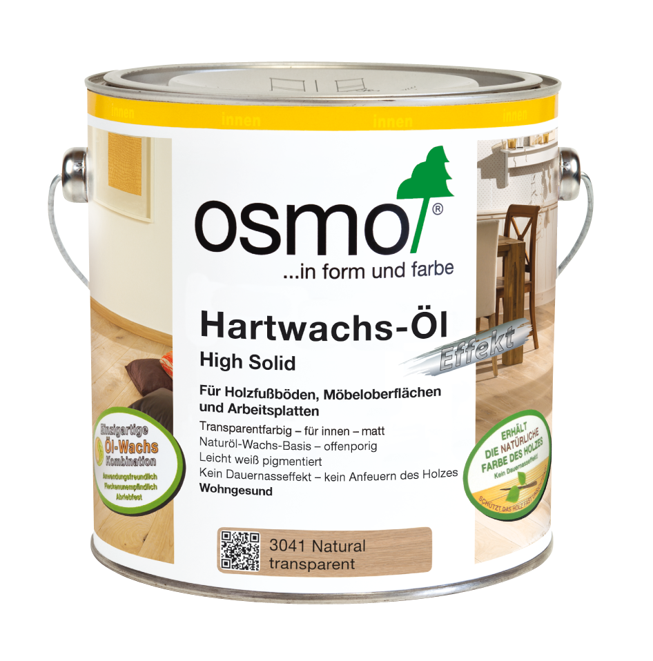 osmo hartwachs l effekt natural natural 3041 0 75 l im onlineshop betten direkt vom. Black Bedroom Furniture Sets. Home Design Ideas