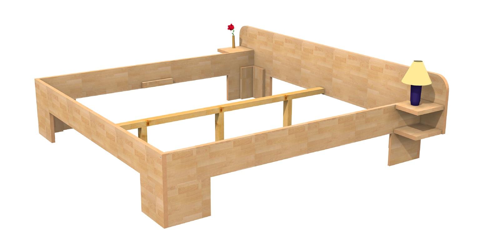 massivholzbett buche doppelbett fuss ii kopfteil 3 gerundet 140cm 30cm buche 200cm im. Black Bedroom Furniture Sets. Home Design Ideas