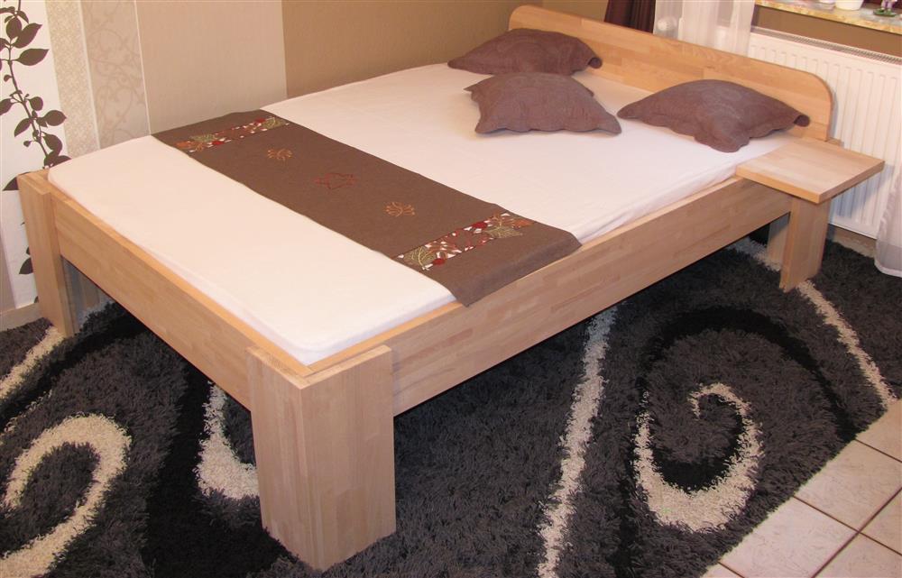 27mm Massivholzbett Einzelbett Doppelbett Mit Fuss I